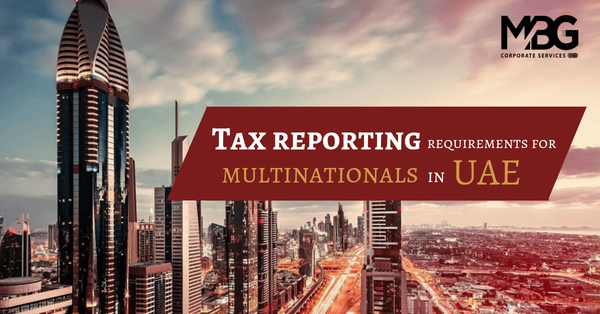 Tax Reporting Requirements