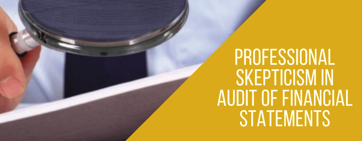 Professional Skepticism in Audit of Financial Statements